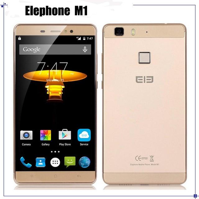 "Original Elephone M1 MTK6735A 64Bit Quad Core 4G LTE Cell Phone Andriod 5.1 5.5"" 1280*720 2GB RAM 16GB ROM 13MP"