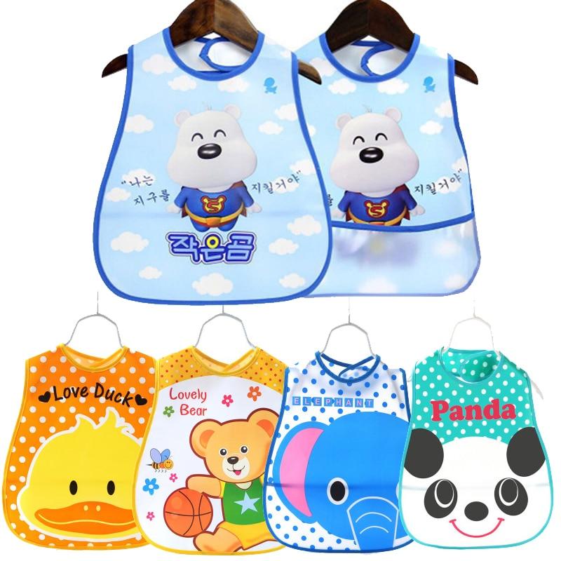 CHUYA Baby Bibs Boy&Girl Burp Cloths Bandana Bibs Baby Babies Bebes Infant Waterproof Bib Bandanas babero con mangas largas foodie babies wear bibs