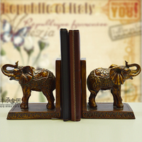 Brief Elegant Bookend Book End Fashion Vintage Bookend Accessories Shuangxiang Bookend