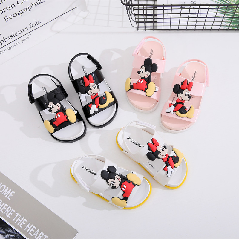 2020 New Mini Melissa Children's Sandals Mickey Summer Children's Sandals Soft Men And Women Beach Children's Sandals