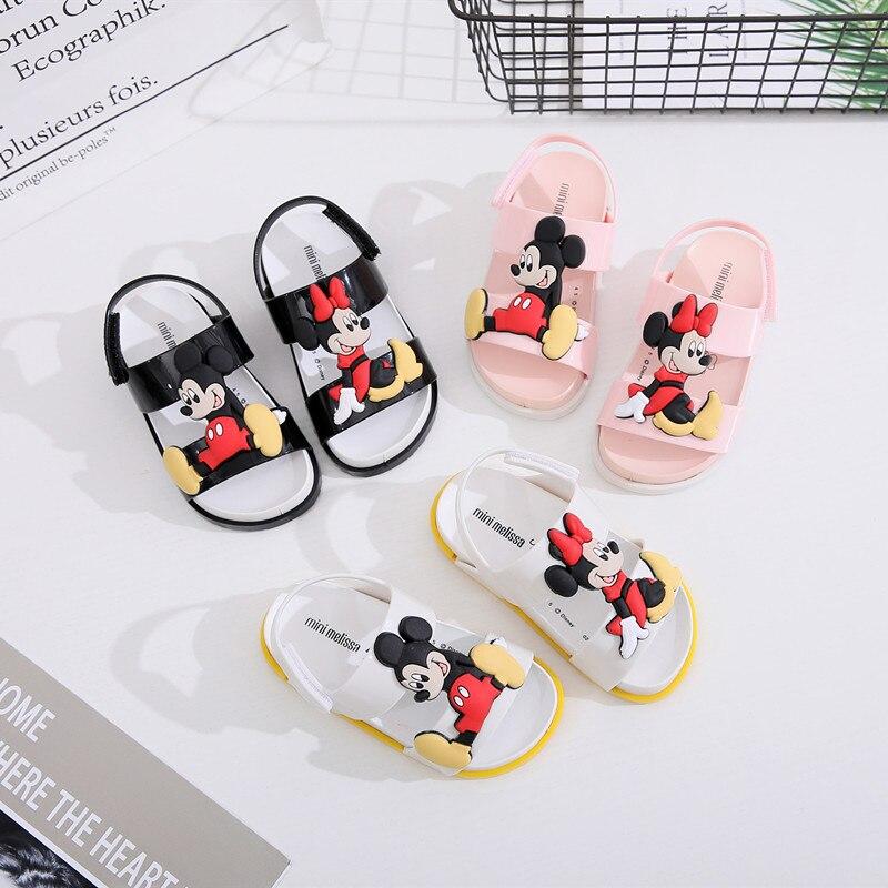 2020new Mini Melissa Children's Sandals Mickey Summer Children's Sandals Soft Men And Women Beach Children's Sandals