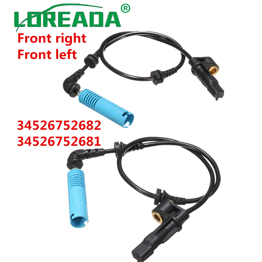ABS Front Left=Right Wheel Speed Sensor Fits BMW 3 E46 without DSC 1998-2006