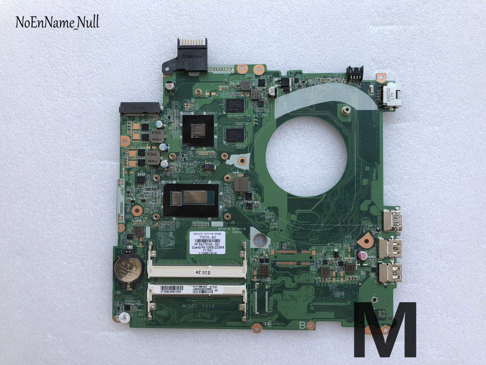 Free Shipping For HP Pavilion 15-P 15-P027TX Laptop Motherboard 774772-501 774772-001 DAY11AMB6E0 I3-4030U CPU 830M 2GB