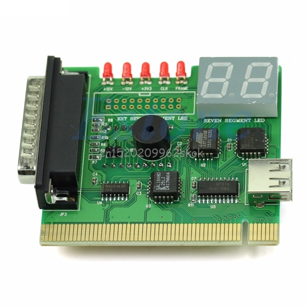 8a3884fae1d7 US $4.0 19% OFF|1PC USB PCI PC Notebook Laptop Analyzer Motherboard  Diagnostic POST Card #H029#-in Networking Tools from Computer & Office on  ...