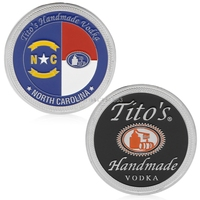 Silver Plated North Carolina Commemorative Challenge Coin Collection Collectible H06