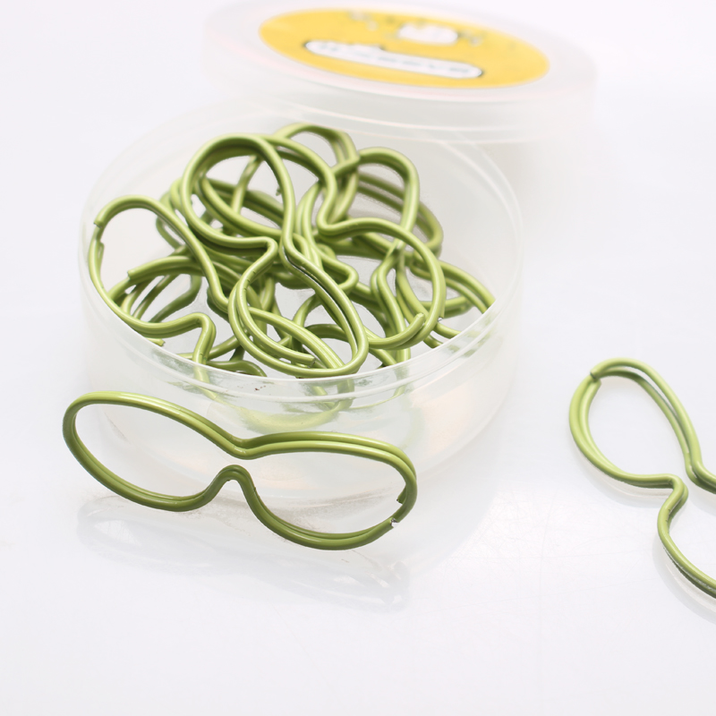 Eyeglasses Paper Clips Kawaii Stationery Office Clips Paper Clips Metal Cute Stationery Mini Office Supplies Office Accessories