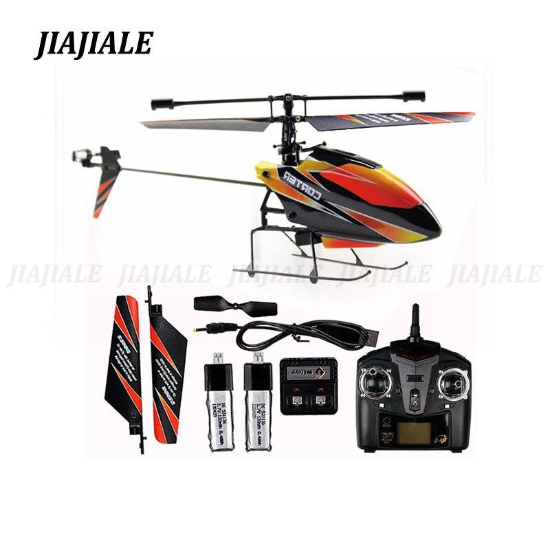 Livraison gratuite wltoys WL V911 RC télécommande hélicoptère drone jouet 2.4g avion jouet volant hélicoptère avions 2 lipo batterie