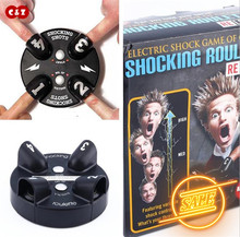 Adventure Funny Creative Toy Electric Shock Game Shocking Shot drinking game Roulette Shot Reloaded