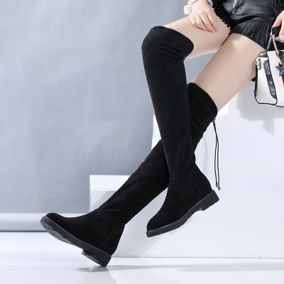Woo Poem Over the Knee long Boots Platform Women Shoes