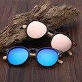 La más nueva Manera Retro Hecho A Mano De Bambú gafas de Sol Acogedor Naturaleza Madera Shades Hombres Mujeres Diseñador Gafas de Sol Gafas de Sol