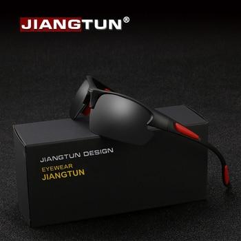 16bbfbdb1d Gafas de sol de pesca JIANGTUN TR90 polarizadas para hombres y mujeres gafas  de sombra para conducir gafas de hombre gafas de moda