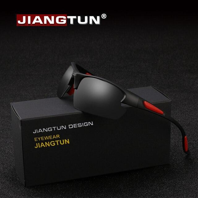 7c4c6c31b3487 JIANGTUN TR90 Pesca Óculos Polarizados Óculos de Sol Para Homens Mulheres  Óculos De Sombra para a