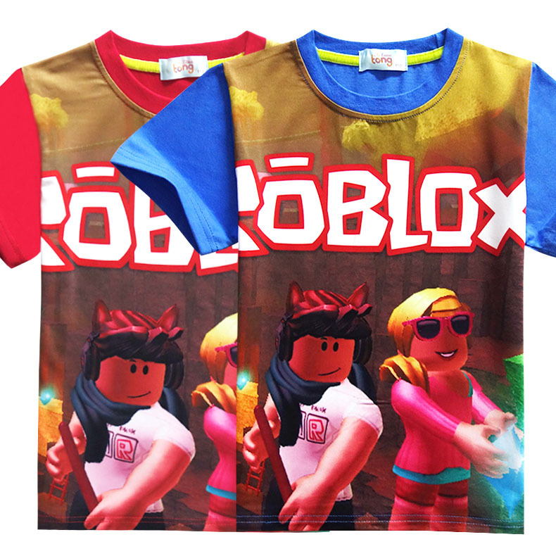 Kids' Clothes, Shoes & Accs. Kids Roblox Cartoon Boys Girls Christmas T Shirt Tshirt Xmas Game 7 To Enjoy High Reputation In The International Market Boys' Clothing (2-16 Years)