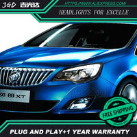 Car Styling Head Lamp for Opel Astra headlights LED Headlight DRL Daytime Running Light Bi Xenon Lens HID Accessories