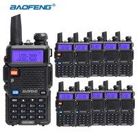 New Version BAOFENG UV 5R Walkie Talkie VHF136 174MHz UHF400 520MHz UV5R Dual Band Dual Display