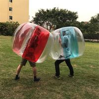 36inch Inflatable Zorb Ball Outdoor Travel Park Game Inflatable Bumper Ball Inflatable Bubble Buffer Ball Toys for Children