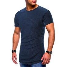 Brand T shirt Men's O-neck Slim Fit Pure Cotton T-shirt Fashion Short Sleeve T shirt Men's Tops Casual Tshirt M-XXL цены