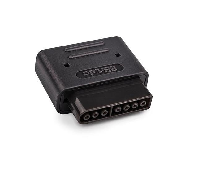 8Bitdo Bluetooth receptor Retro Dongle inalámbrico para SF-C Snes Compatible SNES/NES30/SFC30/NES Pro PS3 PS4 con interfaz de juego controladores