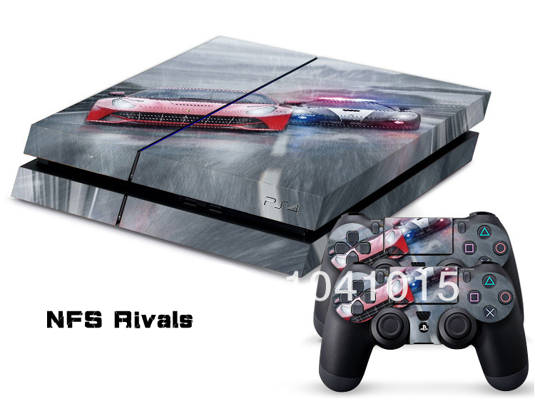 Need For Speed Rivals Skin Sticker PlayStation 4 PS4 Console 2Pcs Free Controller Cover Decals On Aliexpress