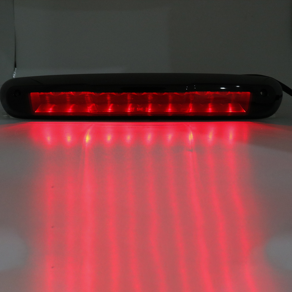 Rear Roof Led Third 3rd Brake Cargo Light For Chevy Silverado Gmc Sierra 1500 2500 3500 Smoke Clear Lens