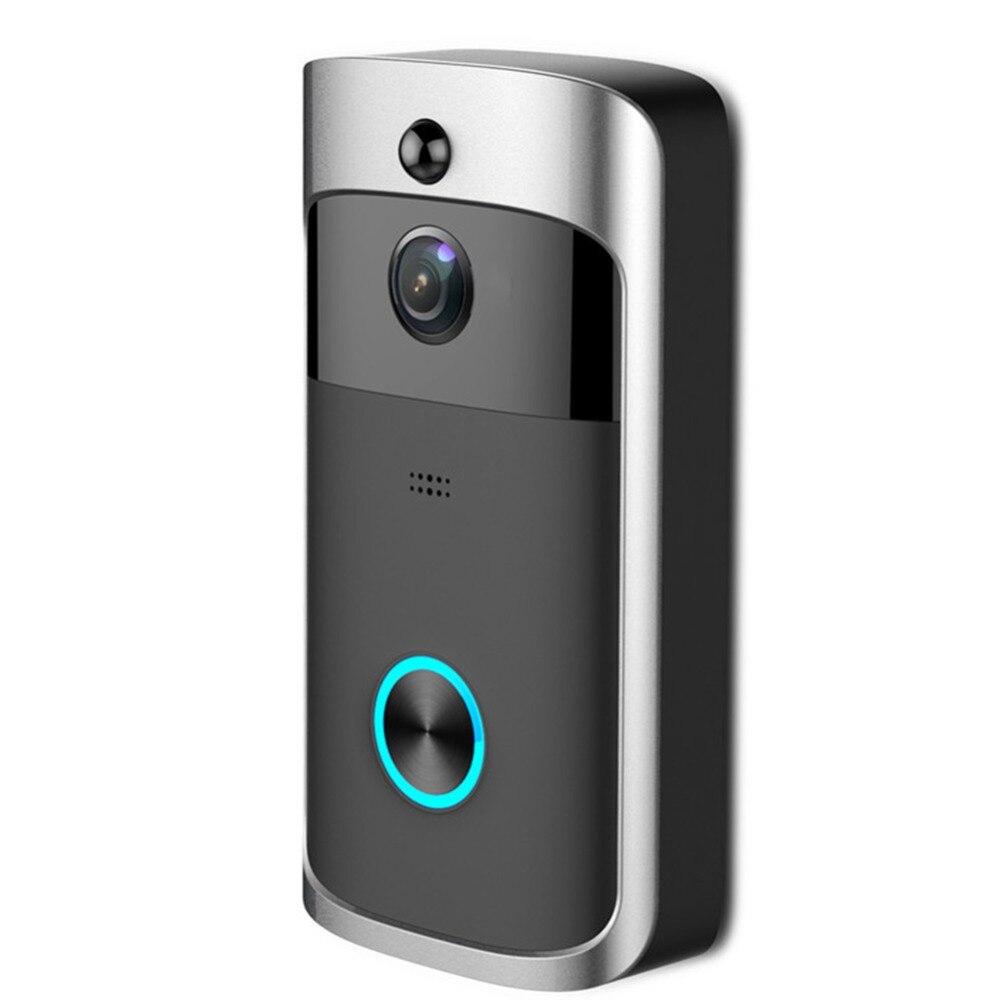 HD 720P WiFi Video Doorbell Camera IR Night Vision Two-Way Audio Battery Operation Door Phone IntercomHD 720P WiFi Video Doorbell Camera IR Night Vision Two-Way Audio Battery Operation Door Phone Intercom