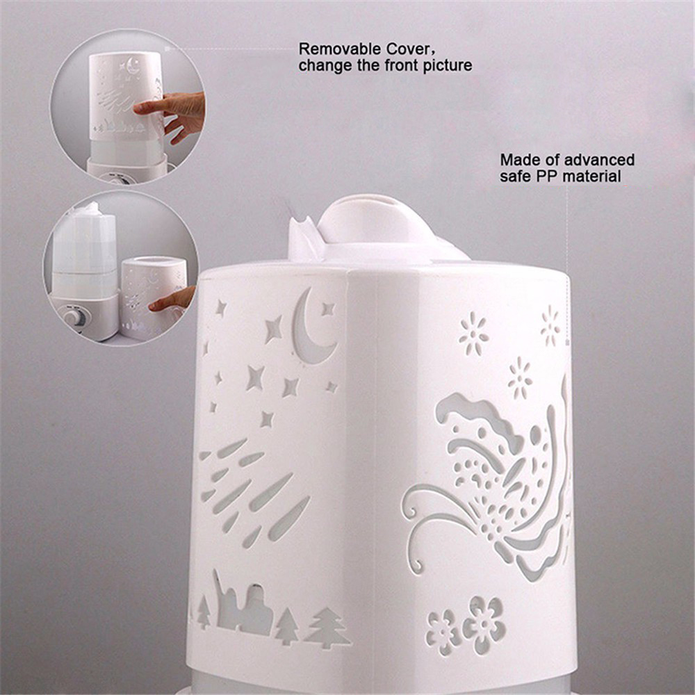Humidifier Essential Oil Aromatherapy Ultrasonic Air Aroma Diffuser