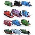 12 шт./компл. томас и его друзья поезда Trackmaster двигатель пластиковая игрушка подарок детские игрушки для Boys дети мини локомотивов