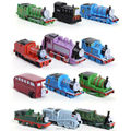 12pcs/set Thomas and Friends Trains Trackmaster Engine Plastic Toy Gift Kids Toys for Boys Children Mini Locomotive Models