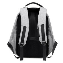 Anti-Theft Backpack with USB Connector