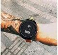 Новый Часовой Бренд HBA Спортивные Часы Мужчин Кварц Мужской Часы Черная Кожа Мужские Наручные Часы Женщины Платье Часы Relogio Верховный AB1404