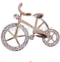 ใหม่แฟชั่นคนรักไร้ที่ติจักรยานต้องมีขนาดใหญ่เข็มกลัด Corsage ของขวัญ
