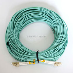 40 Meters LC-LC LC/UPC-LC/UPC Multi-Mode OM3 Fiber Cable Multimode Duplex Fiber Optical Jumper Patch Cord
