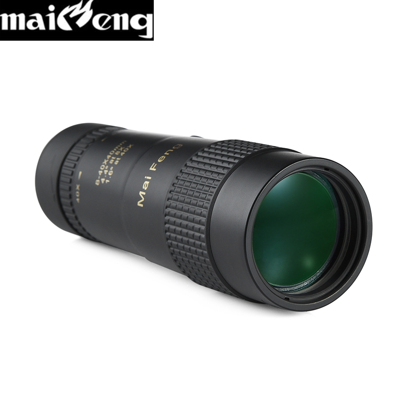 Image 4 - Maifeng Powerful 8 40X40 High Zoom Monocular Professional Telescope Portable for Camping Hunting Lll Night Vision Binoculars HD-in Monocular/Binoculars from Sports & Entertainment