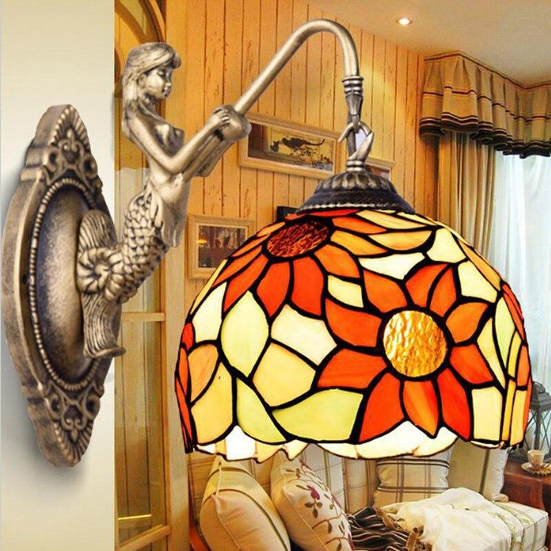 Гостиная светодиодного освещения бра спальня ночники дети лампы зеркальный шкаф под старину лампы для чтения для ванной комнаты металличе...