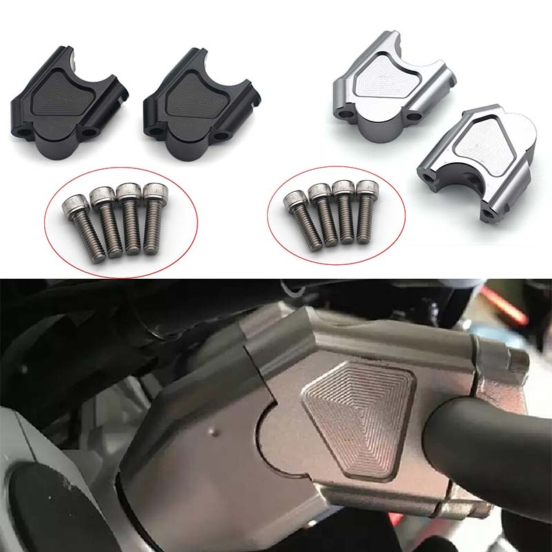 For BMW F800GS GT 2008-2017 F800 GS ADV Adventure 2014 2015 2016 2017 Handle Bar Clamp Raised Extend Handlebar Mount Riser