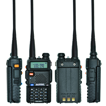 UV-5R 5W VHF UHF Portable Two-way Radio