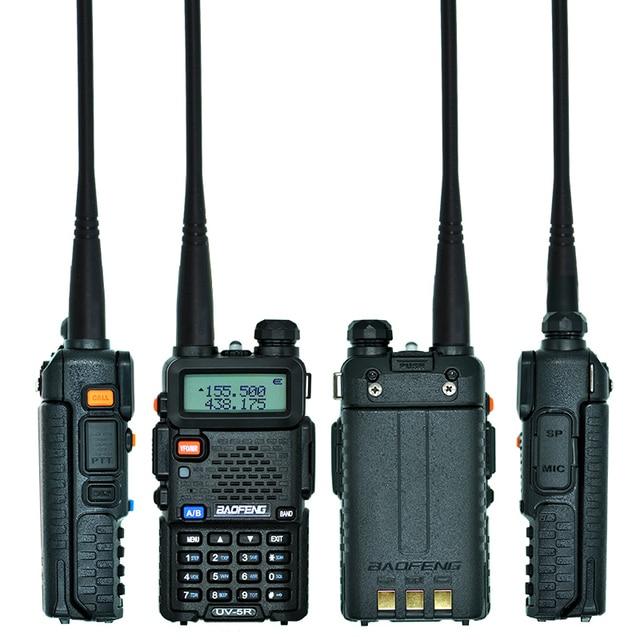 UV-5R 5W VHF UHF Portable Two-way Radio