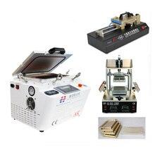 AK OCA Vácuo Máquina de Estratificação Máquina Removedor Debubbler Integrado + 5 in1 Quadro Separador + OCA Automática Máquina de Filme