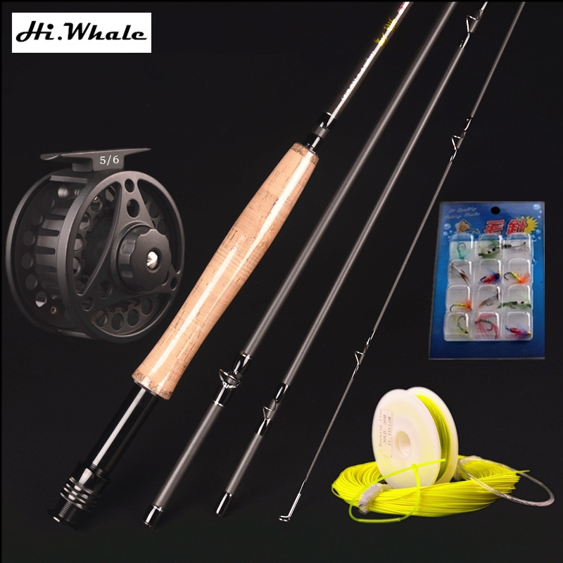 Carbon fly fishing rod 4 section 2.7meters 5 # fly rod fly fishing rod suit lure fishing rod set fishing tackle naillook переводные татуировки для тела 7 2 см х 10 2 см 20868