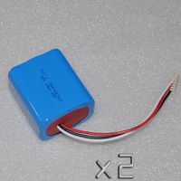 2PCS 7 2V 2500mAh Ni MH Rechargeable Battery Nimh Cell Pack Replace For IRobot Mint 5200
