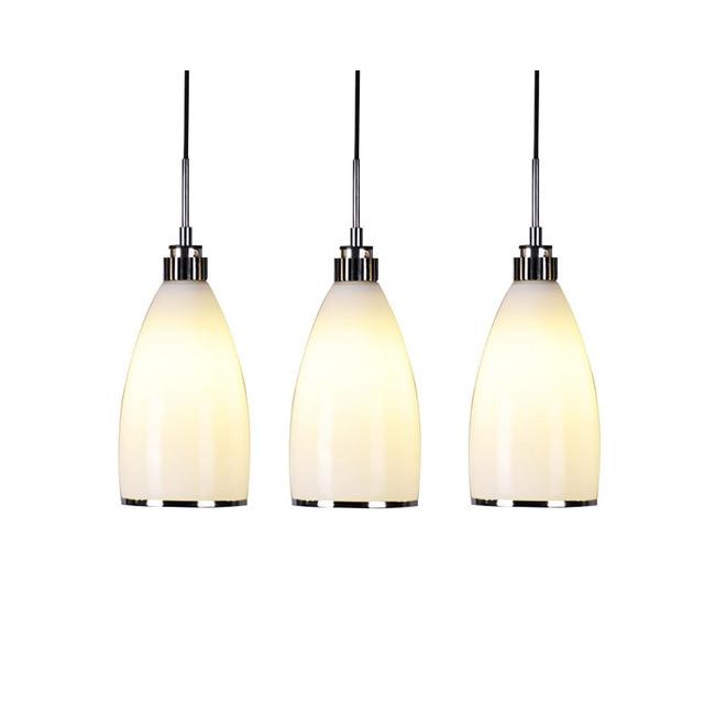 Simple Restaurant Lights Fashion LED Energy Saving Glass Lamp Bedroom Dining Room Creative Bar Table