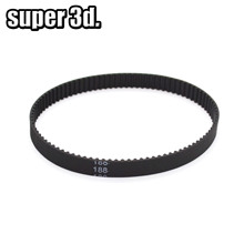 3D Printer Parts 2GT/GT2 Closed Loop Rubber Timing Belt Length 1160/188/200/600/610/810/2270mm for 6mm Pulley