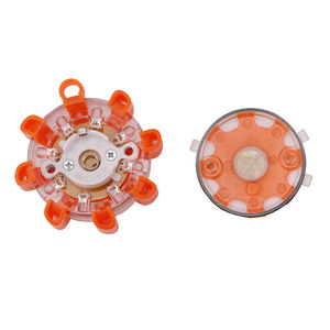 Image 4 - Mini 8* LED Emergency Safety Flare Red Road Flare Magnetic Flashing Warning Night Lights Roadside Disc Beacon For Car Truck Boat