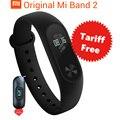 В Наличии Оригинала Xiaomi Mi Группа 2 Смарт Браслет Браслет Band2 IP67 OLED Экран Тачпад Пульс Сердечного Ритма Временной Шаг дата