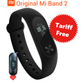 In Stock Original Xiaomi Mi Band 2 Smart Wristband Bracelet Band2 IP67 OLED Screen Touchpad Pulse Heart Rate Step Time Date