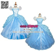 New Arrival Princess Cinderella dress Movie Costume Dress Cosplay Costume