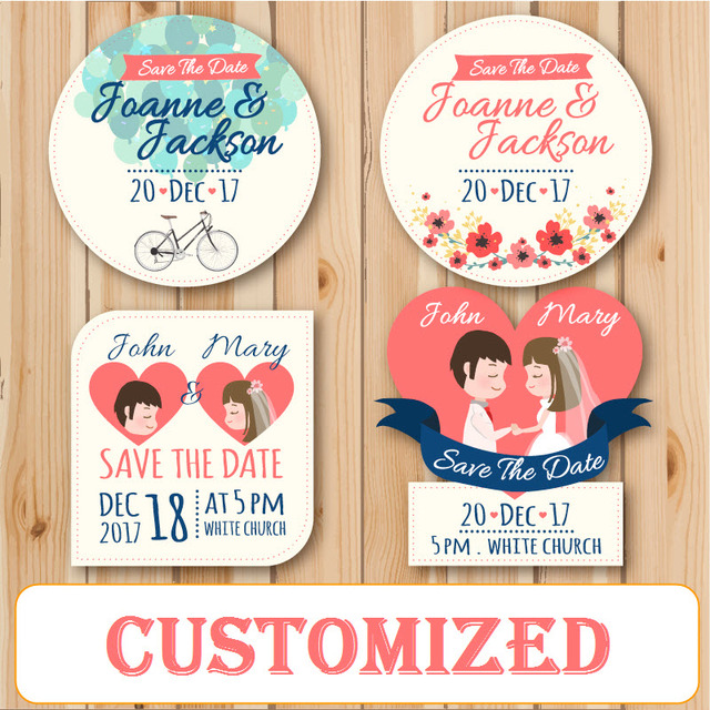 24 Pieces Personalized Customized Printing Wedding Envelope Party Candy Favors Boxes Birthday