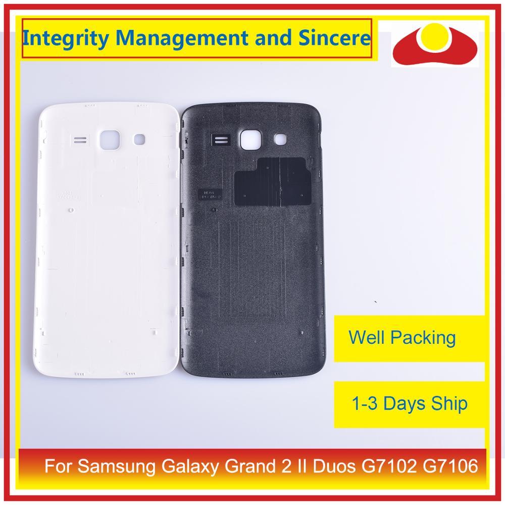 Image 4 - Оригинал для samsung Galaxy Grand 2 II Duos G7102 G7106 корпус батарея Дверь задняя крышка корпус замена корпуса-in Корпуса и рамки для мобильных телефонов from Мобильные телефоны и телекоммуникации