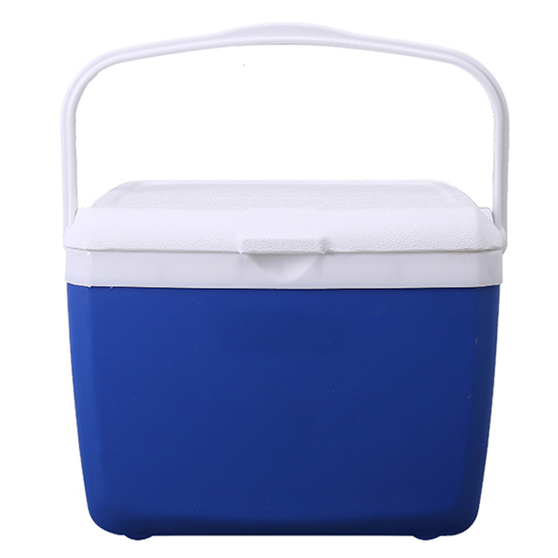 Small Mini PP Cold Preservation Heat Preservation Outdoor Outing Portable Car Refrigerator Incubator Outdoor Tools     - title=