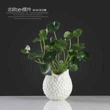 concise white coruja ceramica owl home decor Owl flower vase pot crafts room decoration handicraft porcelain animal figurine